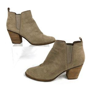 Dolce Vita   Pull On Faux Suede Ankle Booties
